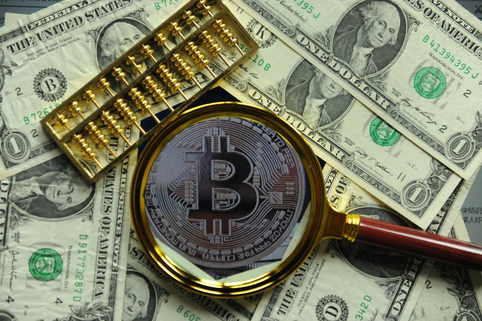 Who sets the price of the bitcoin?